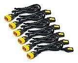 APC  Stromkabel - AP8704S-WW (6 Stück, verriegelbar, C13 auf C14, 1.2 m)