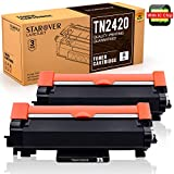 [con Chip] STAROVER TN-2420 TN2420 Cartucho Tóner Compatible para Brother MFC-L2710DN MFC-L2710DW...