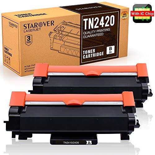 [con Chip] STAROVER TN 2420 TN2420 Cartucho Tóner