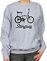 Stingray Bike Retro Lowrider Bicycle Womens Sweatshirt