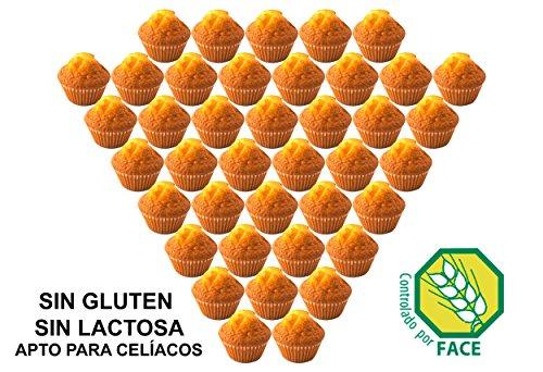 Magdalenas artesanas sin gluten (40 unidades)