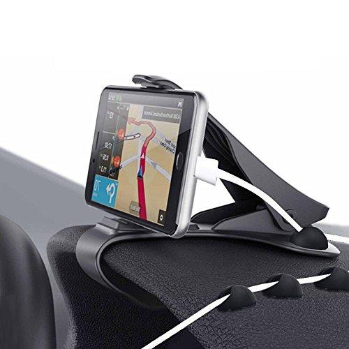 Zenoplige soporte para automóvil soporte para teléfono de coche pinza sujeta móvil...