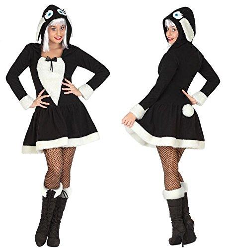 Atosa 26975 - Sexy Schaf, Damenkostüm, Größe 42/44, (Schaf Für Schwarzes Kostüm Erwachsene)