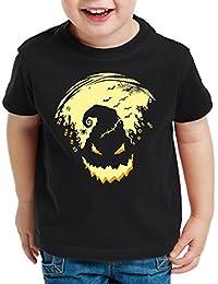 style3 Boogie Man Halloween T-Shirt pour enfants cauchemar