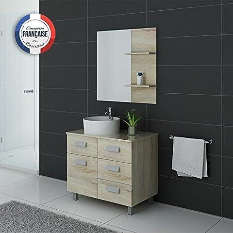 Meuble simple vasque MILAN Scandinave