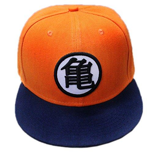 Cosplay Unisex Cap Klassisches Anime Symbol Baseballmütze orange Snapback justierbarer Hut Kostüm Zubehör auf Verkauf