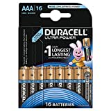 Duracell - Ultra Power - 16 Piles Alcalines type AAA (LR03)