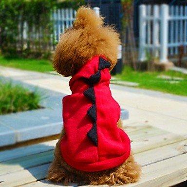 Imagen de gatos / perros disfraces / saco y capucha / accesorios rojo / verde ropa para perro invierno / primavera/otoño animalboda / cosplay / , grün alternativa
