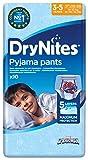 Huggies DryNites Boy hochabsorbierende Pyjamahosen Unterhosen für Jungen für 3-5 Jahre, 10 Stück