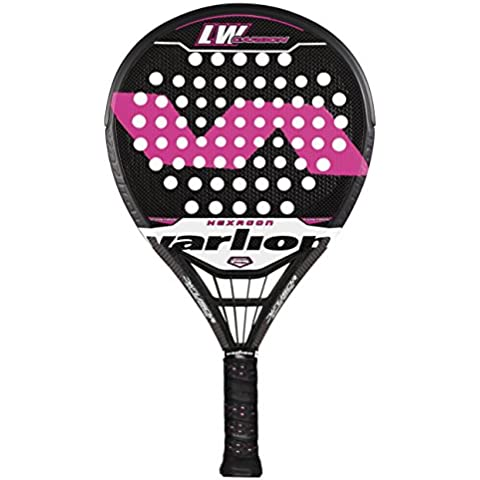 Varlion L.W. Carbon Difusor Hexagon - Pala de pádel unisex, color rosa