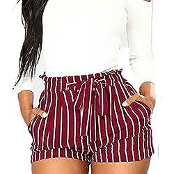 Daysing Pantalon Cargo Femme Rose, Pantalon De Yoga Boho DéContracté à Imprimé Floral Taille Mi-Basse Pantalon De JoggingLegging pour Femme de Course à Pied Pantalon de Sport Respirant Pantalon