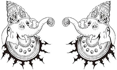 GYMNLJY GYMNLJY GYMNLJY Adesivi tatuaggio Uomini e donne impermeabile tatuaggio adesivo cicatrice Anime Tattoo(pack of 2) , 160110mm   Qualità    Terrific Value    Grande Svendita  3b6725