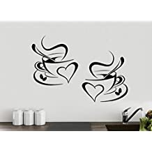 Amazon.it: adesivi murali caffe