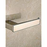 Accessori da bagno qmm,Porta cartaigienica Contemporaneo - Montaggio a muro