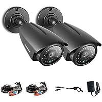 Annke Kit di Videocamera di 960P(1280*960)AHD Per il Kit di 1080N,Sistema Sorveglianza di Sicurezza. (2 Bullet)