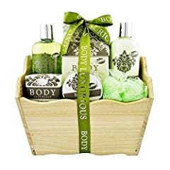 Idea Regalo - Bagno Trash - Luxurious Corpo - Tè Verde - 6 Pz - scatola regalo, regalo per le donne