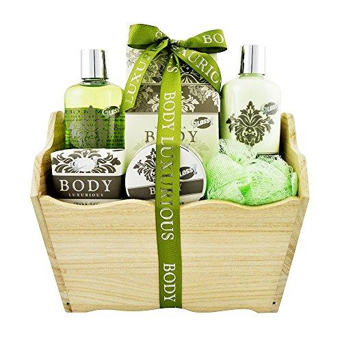 Gloss Geschenkset Badeset, Body Luxurious, Grüner Tee, 6 Stück Geschenk-Box - Bade-Geschenk