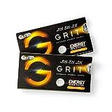 GRIT® Supreme Energy Drops - der Energy Drink zum Lutschen - Koffein, Taurin, Vitamin B6 & B12 als Booster - 5 min bis zum Power Kick - zuckerfrei Kumquat 20 Drops