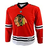 NHL Chicago Blackhawks Team Farbe Replica Jersey Youth, Herren, rot
