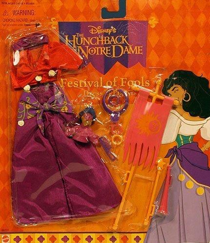Mattel - Disney's Glöckner von Notre Dame, Fest der Narren Mode Esmeralda