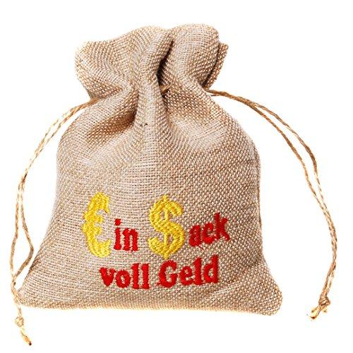 Kostüm Sack Geld - Beutel - Ein Sack voll Geld