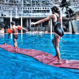 Jpl Schwimmen Zubehör Spaß Schwimmbad Spielen Spiele Schwimmen Sprungbrett...