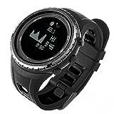 SUNROAD FR830 Reloj digital reloj de pesca Deportivo 5 ATM Cronómetro Multifuncional con Altímetro...