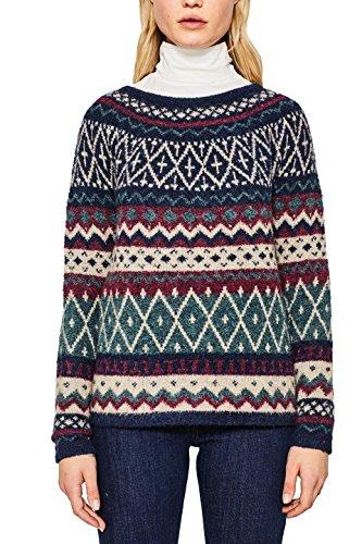 ESPRIT 107ee1i012, Suéter para Mujer, Multicolor (Dusty Green 5 339), Medium