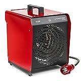 TROTEC TDS 50 E Elektroheizgebläse (max. 9 kW) Integriertes Thermostat 2...