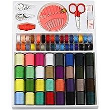 kit de costura con 100 piezas con caja de cambios almacenamiento para el hogar DIY