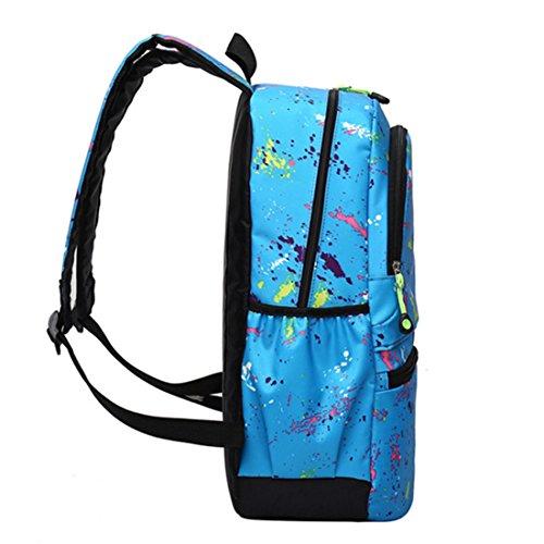 sfpong , Sac à main porté au dos pour femme, noir (Noir) - G72155C bleu