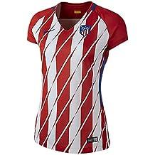 2017-2018 Atletico Madrid Home Nike Ladies Shirt 8e70f3458e7