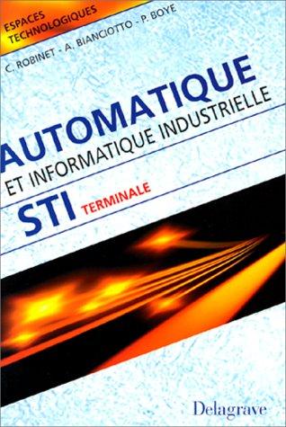 automatique-et-informatique-industrielles-terminale-sti