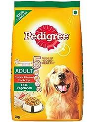 Pedigree Adult Dog Food Vegetarian, 3 kg