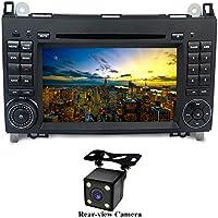 """XISEDO Android 7.1 Autoradio 7"""" Car Radio 2 Din Autonavigation RAM 2G Car Stereo mit DVD Player Moniceiver für Benz A-W169, B-W245, Sprinter, Viano, Vito Unterstützt Lenkradkontrolle, Mirro-link (mit Rückfahrkamera)"""