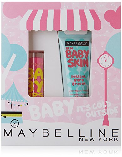 Maybelline \'Baby Its Cold Outside\' (Grundierung and Baby Lips) Gift Set Boxed