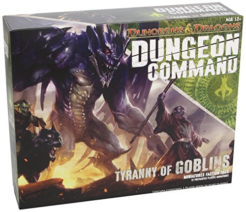 "Dungeon Command: Tyranny of Goblins: A Dungeons & Dragons Expansion Pack (""Dungeons & Dragons"" Miniatures)"