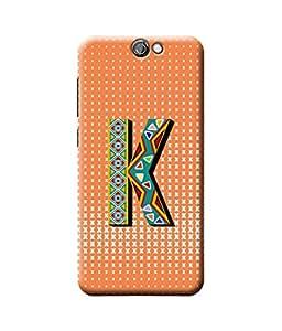 Be Awara Alphabet K Designer Mobile Phone Case Back Cover For HTC One A9