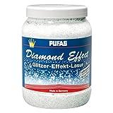 Pufas Diamond Effect Lasur Effektlasur 1,5L extrafeiner silberner Glitzer-Effekt