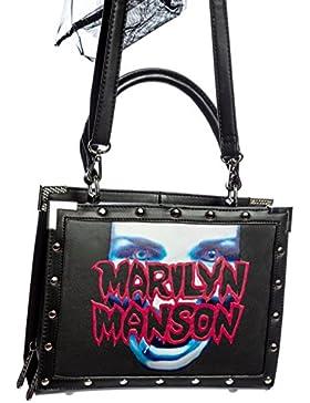Killstar x Marilyn Manson Umhängetasche MY METAL LUNCHBOX HANDBAG schwarz