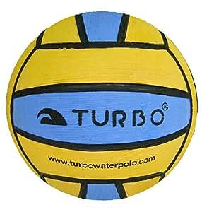 Turbo Mini-ballon de water-polo Jaune/Bleu