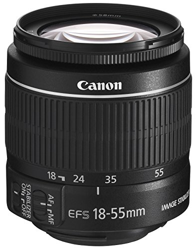 Canon EF-S 18-55mm 1:3.5-5.6 IS II Universalzoom-Objektiv (58mm Filtergewinde, bildstabilisiert) 450d Kit