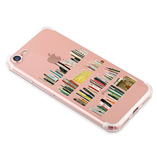 Coque iphone 7 Qissy® Étui Housse en Silicone Souple Transparent Protecteur Mince Shell Gel TPU Back Case pour Apple iphone 7 4.7 Pouces A