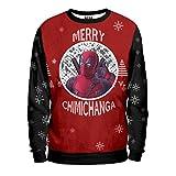 Noorhero - Felpa Uomo - Deadpool Christmas