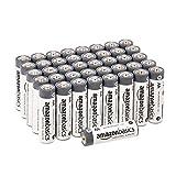 AmazonBasics AA industriële alkaline batterijen (pak van 40 stuks)