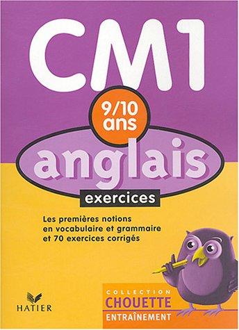Chouette Entraînement : Anglais, CM1