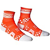 Compressport Run Fluo - Calcetín de running unisex, color naranja, talla 5
