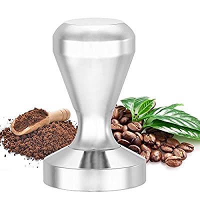 flintronic Stainless Steel Espresso Coffee Tamper Coffee Bean Press,51mm Base from flintronic