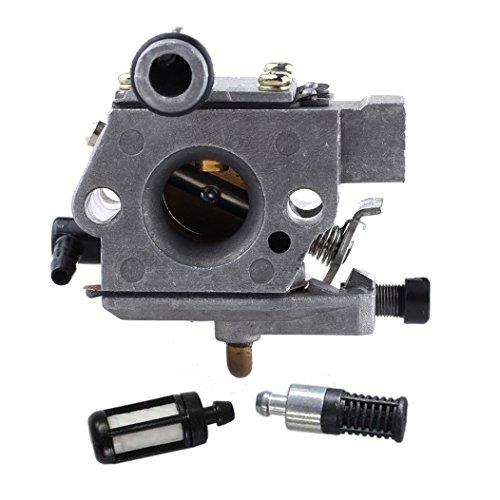 HIPA Carburateur et Filtre à essence Filtre à huile pour TronçonneuseSTIHL 024 026 MS240 MS260