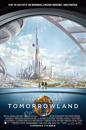 Poster del Film Disney Tomorrowland, Finitura Lucida, MOV621 24' x 36' (61cm x 91.5cm)